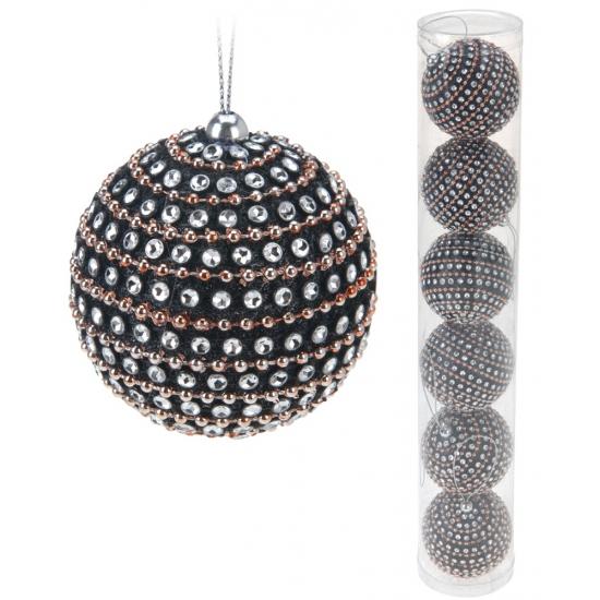 Koker Met 6 Luxe Kerstballen Kopen Voor 4 99 Bij Pruik Kopen Nl